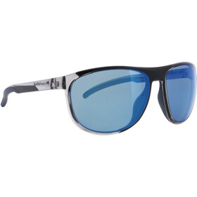 Red Bull SPECT Slide Lunettes de soleil, x'tal grey/smoke with blue mirror polarized
